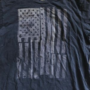 Lucky Brand Shirts - Lucky Brand American Flag Graphic T-Shirt Size L